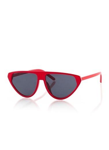 Silvio Monetti Gözlük Kırmızı